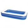 PISCINA RECTANGULAR INFLABLE 305x183x56 CM
